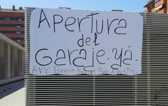 La AV Parque Bruil reclama que se agilicen los trámites para la apertura del parquin subterráneo de la Escuela Infantil