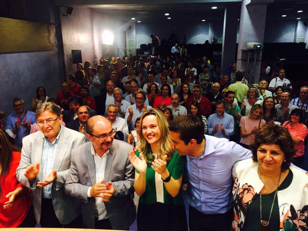 """Lambán: """"Hay PSOE para muchos años"""""""