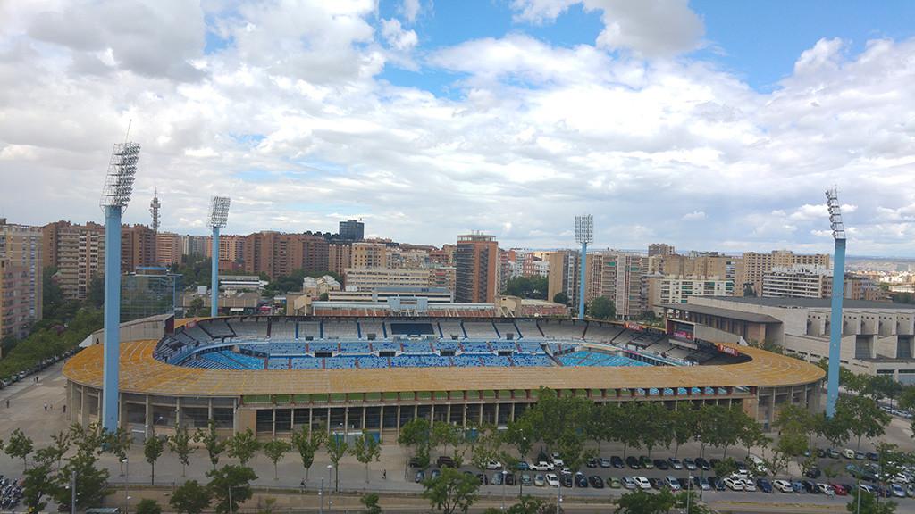 CHA presenta una moción para impulsar la remodelación del estadio de La Romareda