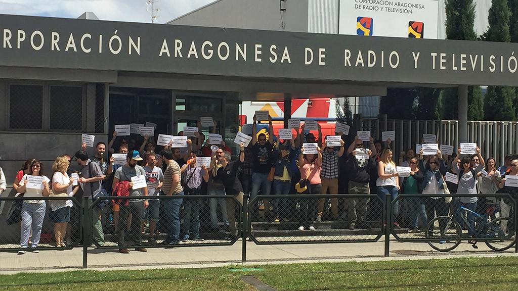 El comité de empresa de TSA-Aragón reinicia las movilizaciones