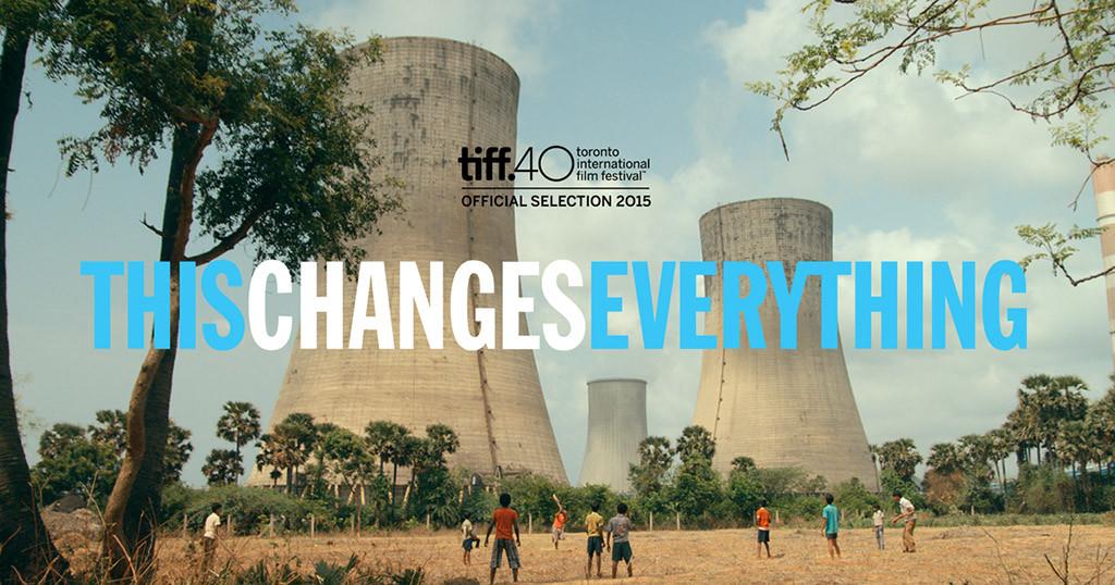 """Proyección de la película documental """"Esto lo cambia todo"""", escrita por Naomi Klein"""
