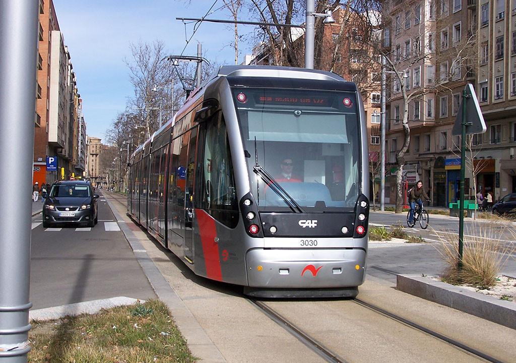 La línea VIP del Tranvía de Zaragoza