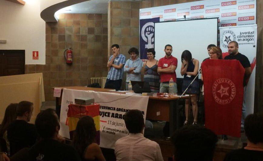 Víctor Benedico elegido nuevo Secretario Político de las juventudes comunistas en Aragón