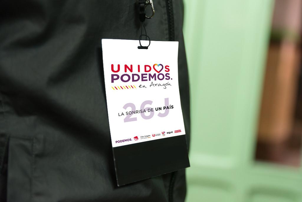 Unidos Podemos presenta este lunes a sus candidatos para el Congreso y el Senado en Aragón