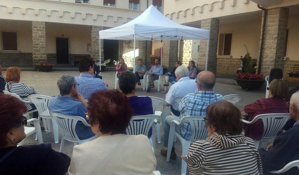 Unidos Podemos considera prioritaria la descontaminación del vertedero de Sardas y de la fábrica de Inquinosa
