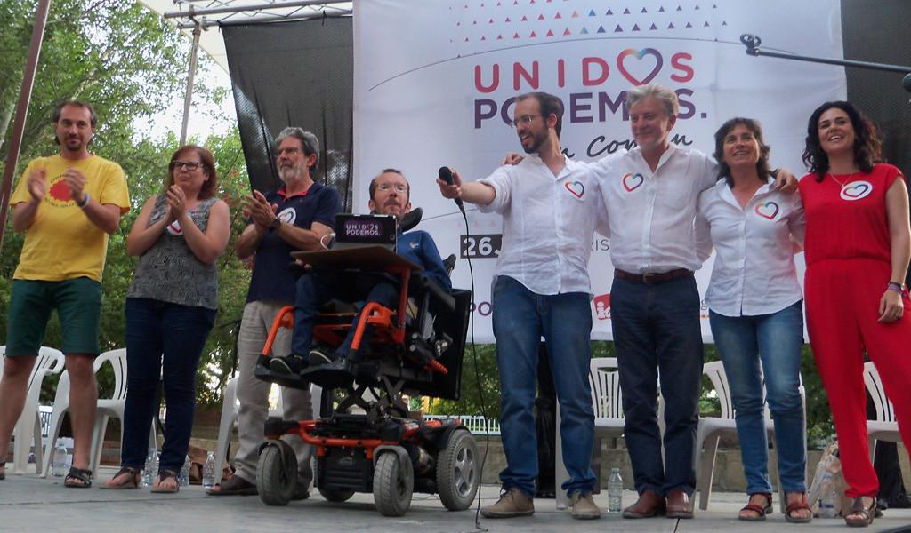 """Jorge Luis Bail: """"Hay que ir a votar de la mano de nuestros padres y abuelos, que lucharon por un futuro digno, algo que el PP ha traicionado"""""""