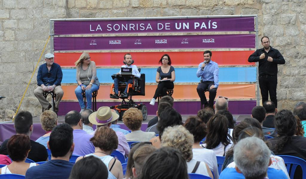 """Pablo Echenique: """"Vamos a hacer una campaña histórica y ganar un diputado para la gente en Teruel"""""""