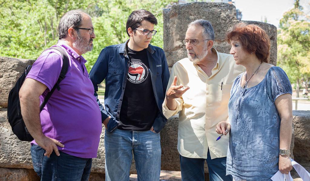 """Unidos Podemos propone 25 medidas programáticas para """"un nuevo Aragón"""""""