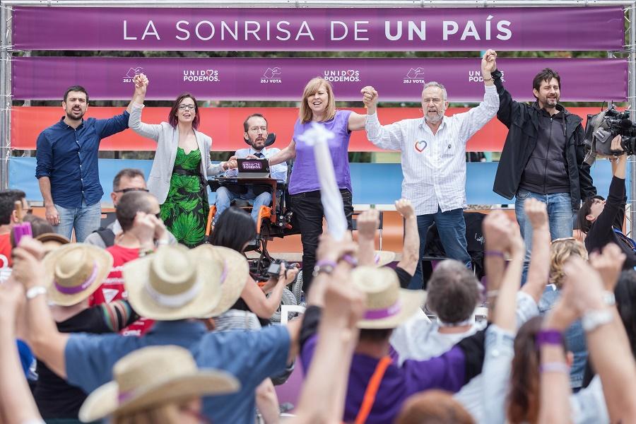 """Pablo Echenique: """"Estamos en un momento histórico, a punto para empezar a construir un país mejor"""""""