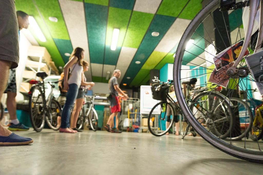 [FOTOS] Ruta en bicicleta por experiencias locales