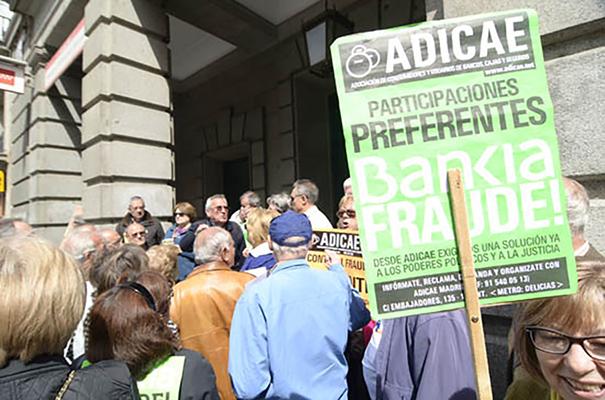 La Justicia admite a trámite la demanda colectiva de ADICAE contra Bankia