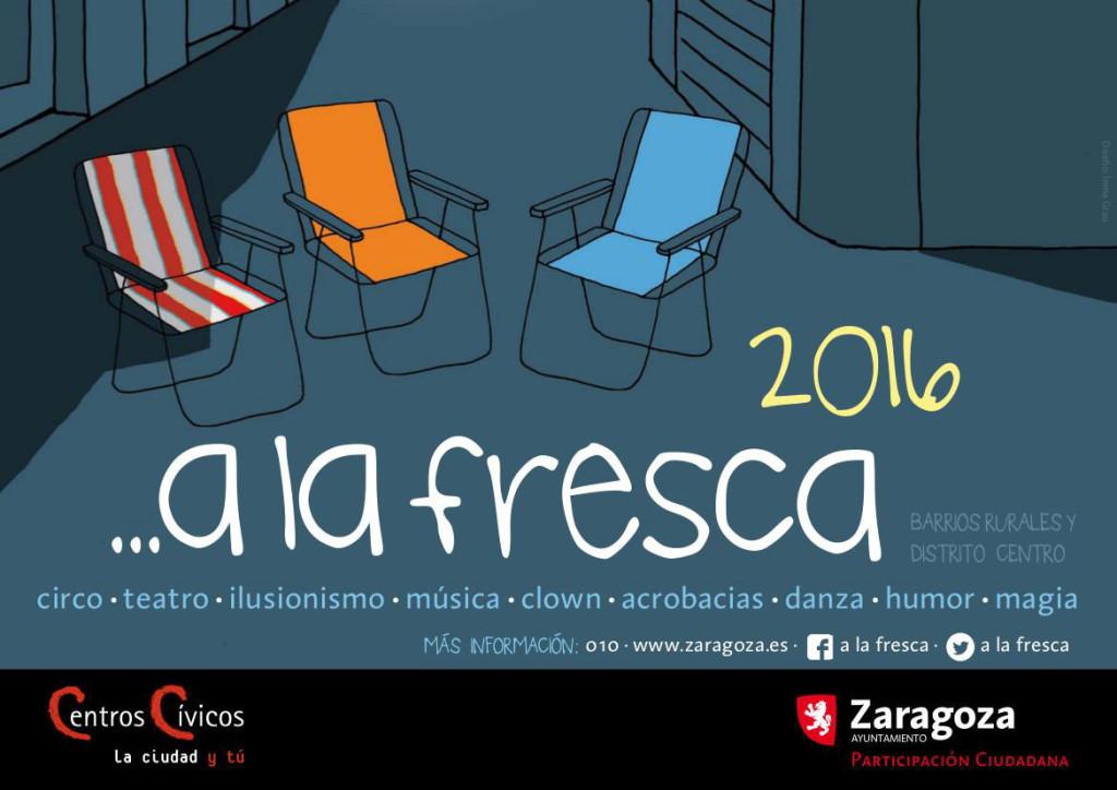 Vuelve la programación cultural 'A la fresca' en los barrios rurales de Zaragoza