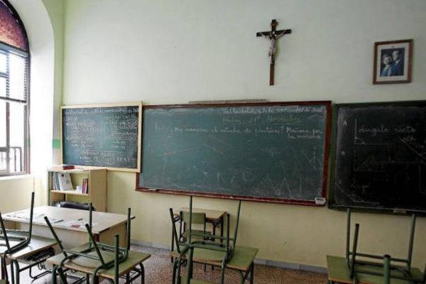 """CGT expresa su negativa a los """"privilegios"""" de la religión católica en los centros educativos aragoneses"""