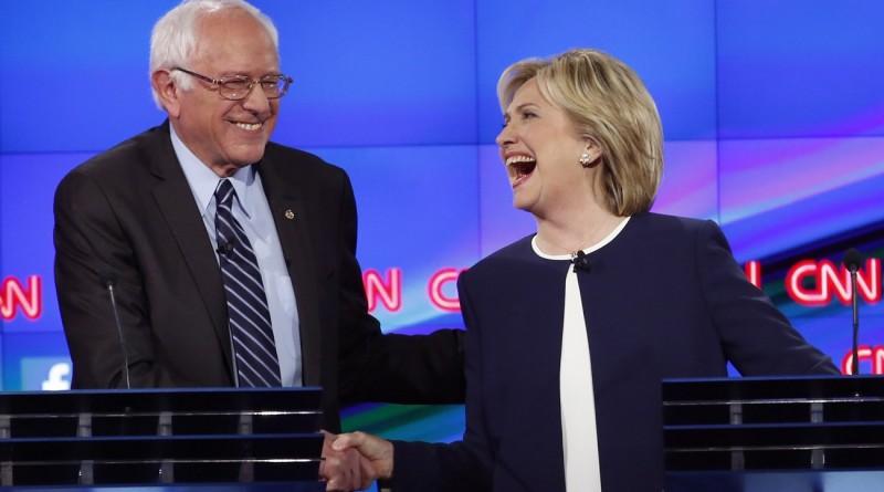 """Sanders votará finalmente por Hillary Clinton para """"evitar la victoria de Trump"""""""