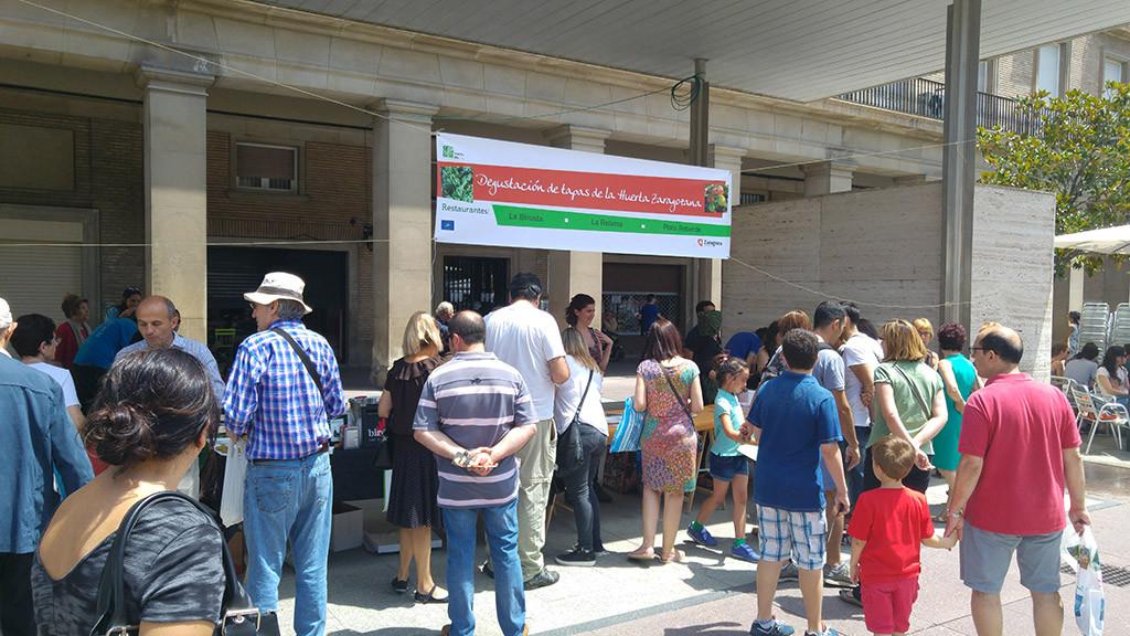 II Fiesta de la Huerta Zaragozana. Foto: @igoiz17 (AraInfo)