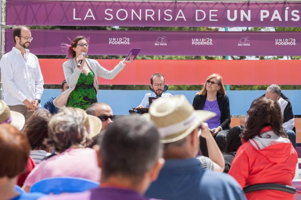 """María Galindo: """"El PP representa estabilidad en corrupción, desahucios o falta de transparencia"""""""