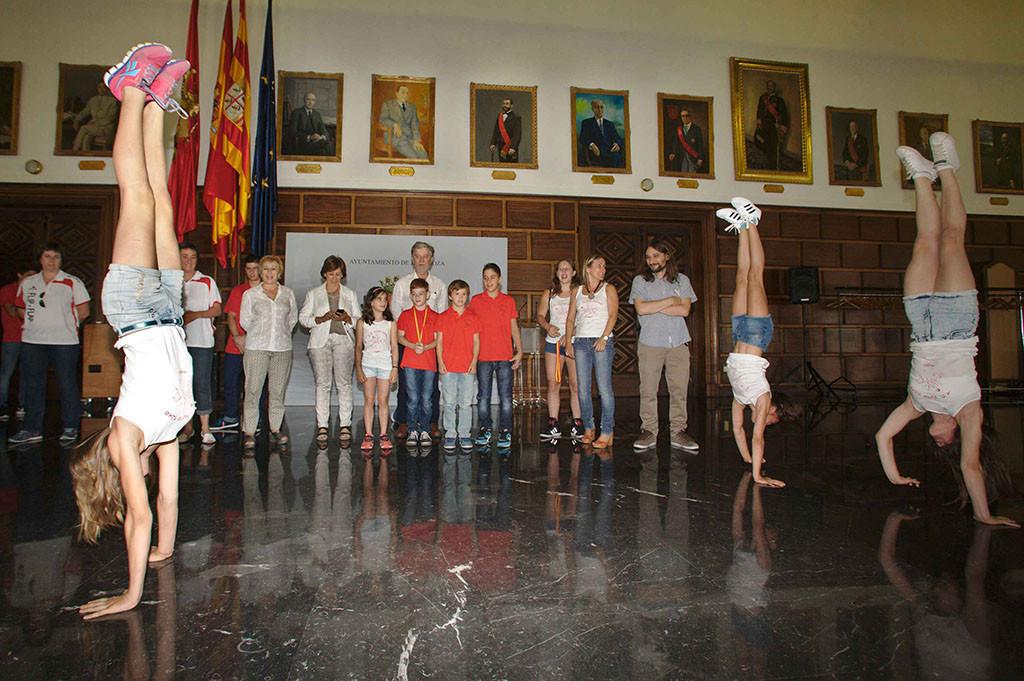 La gimnasia artística contará con unas instalaciones estables y adecuadas en Zaragoza