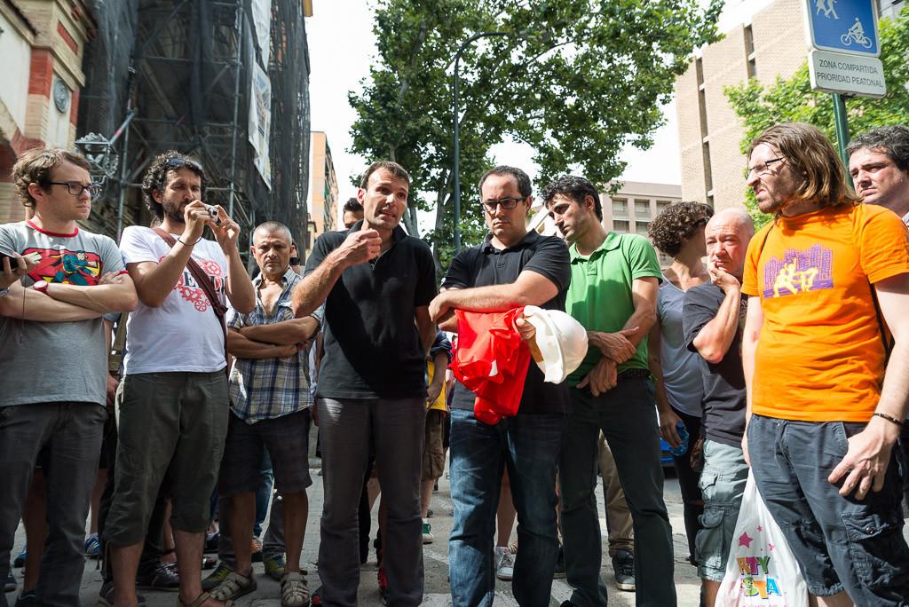 Zaragoza en Común ante el derribo de Averly