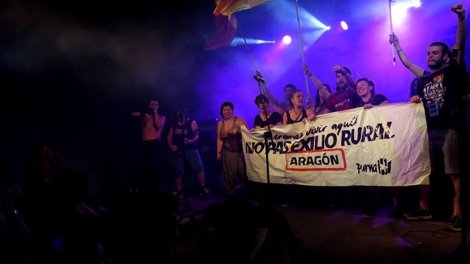 El Espacio Choven acerca a la Plaza de la Magdalena la música de los grupos jóvenes de Aragón