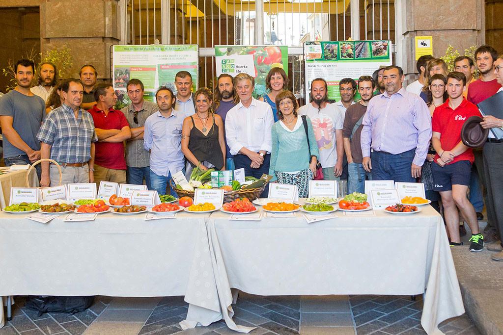En marcha la Red de Huertas Agroecológicas de Zaragoza con la ilusión de revertir el modelo de ciudad