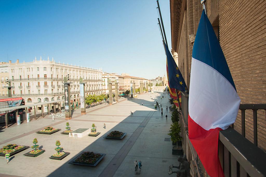 Muestras de solidaridad desde Aragón con las víctimas de Niza