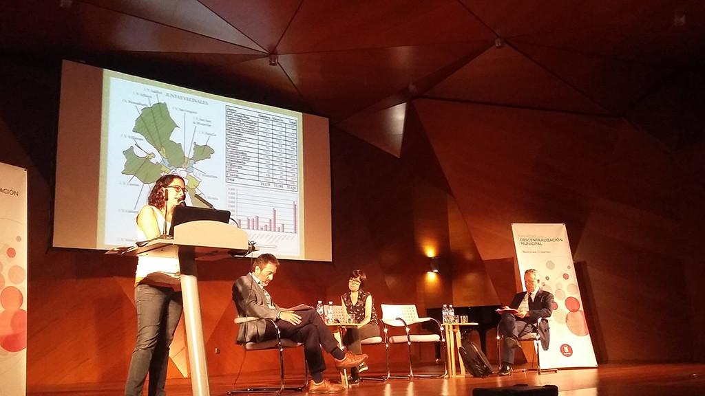 La participación en los distritos de Zaragoza, protagonista en la mesa de 'Experiencias de buenas prácticas' en Madrid