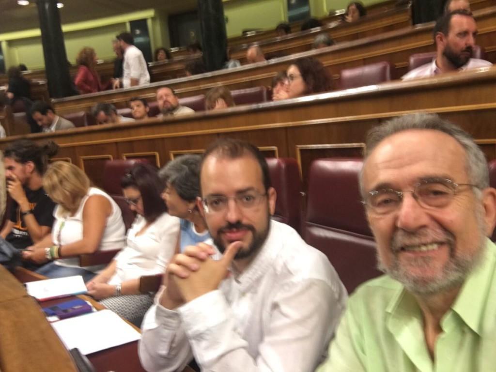 Jorge Luis Bail y Pedro Arrojo prometen sus cargos de diputados en aragonés