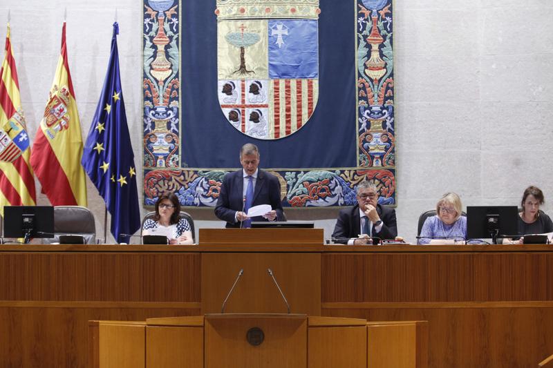 Cosculluela renuncia a presidir las Cortes de Aragón y seguirá de alcalde de Balbastro
