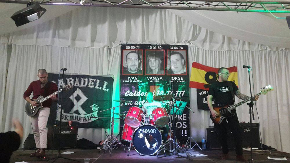 Prohíben un concierto nazi en Exeya