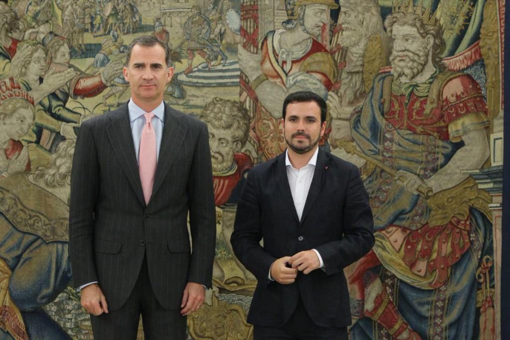 Alberto Garzón cree que tanto PSOE como Ciudadanos quieren que gobierne el PP
