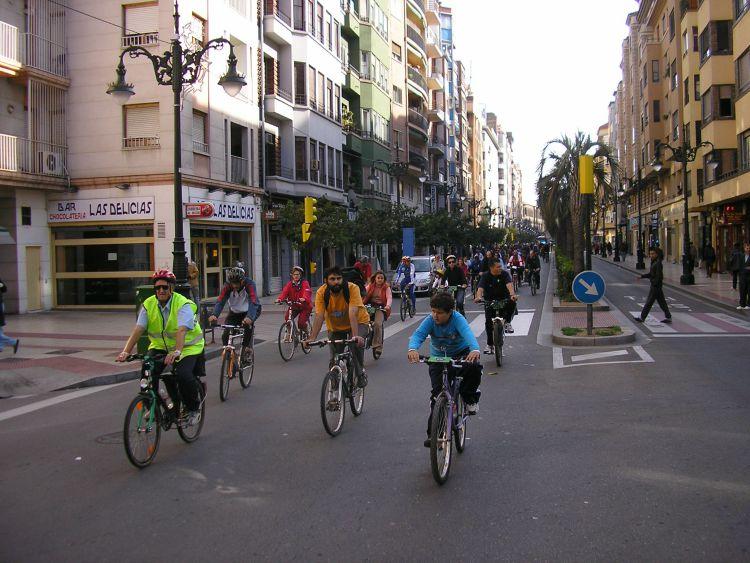 Las bicicletas y la ciudad soñada