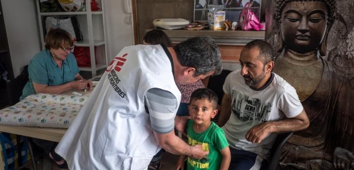 MSF denuncia que las autoridades francesas están restringiendo el acceso de refugiados al campo de Grande-Synthe
