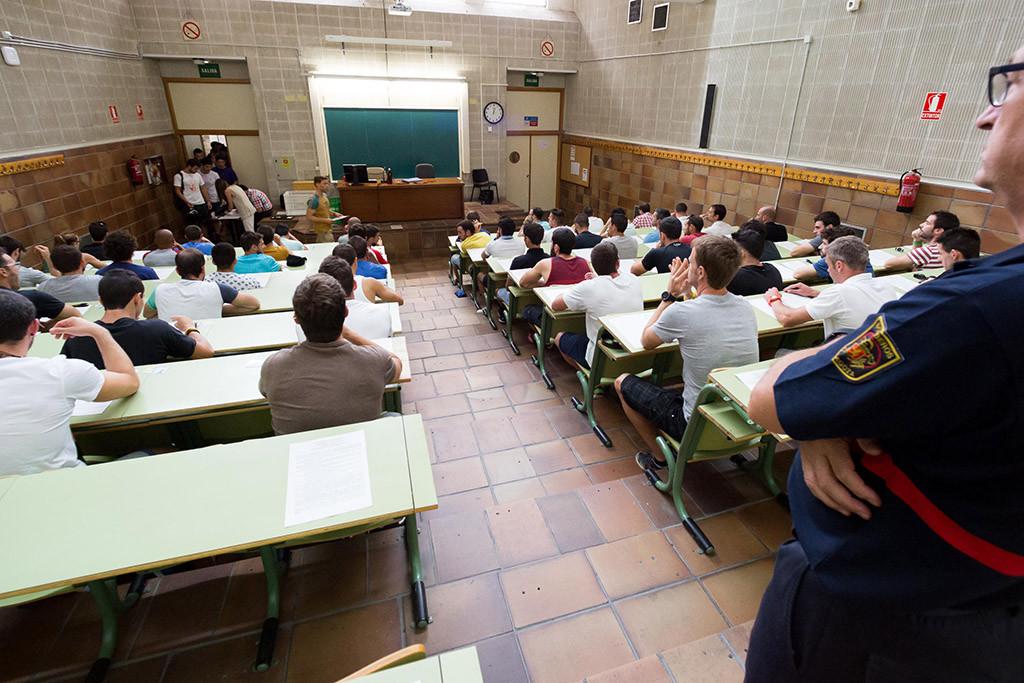 Hasta 139 candidaturas por tribunal en las oposiciones de enseñanza