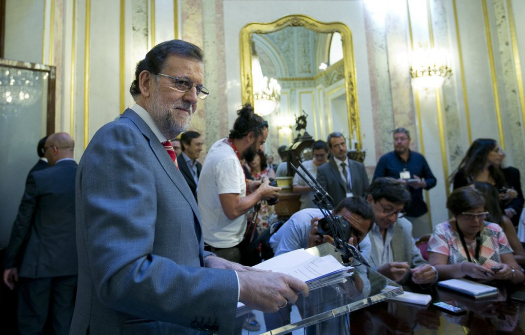 Rajoy afirma que no se presentará a la investidura, que baraja para el 2 de agosto, si no tiene los suficientes apoyos