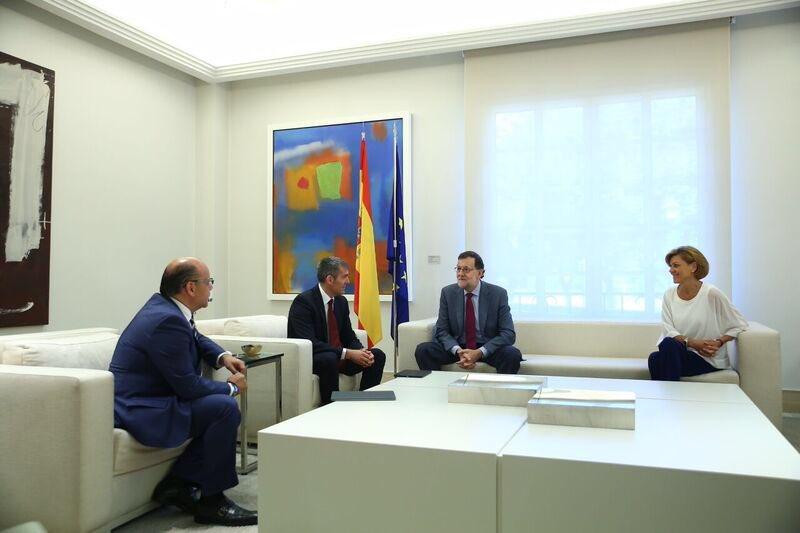 Rajoy comienza las negociaciones para intentar formar gobierno
