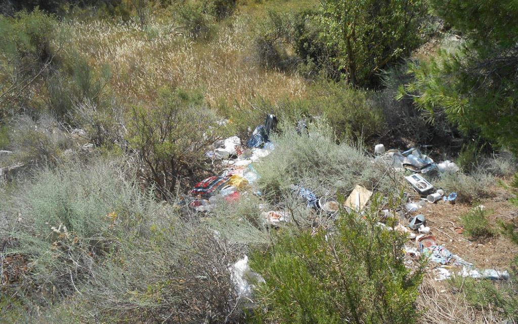 IU denuncia ante Medio Ambiente otro vertedero ilegal ubicado entre Fraga y Torrent d'a Cinca