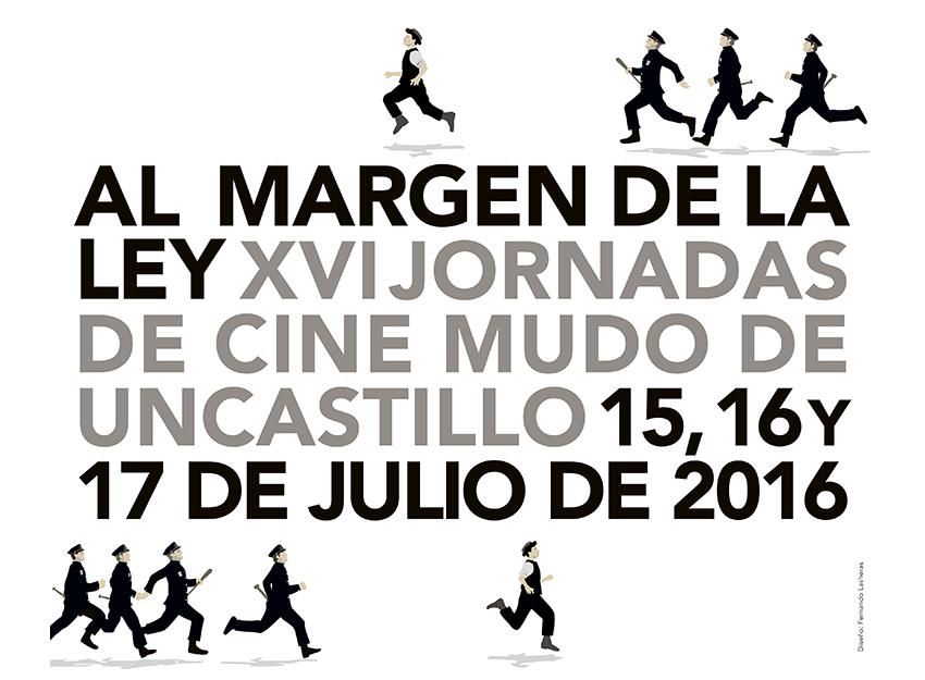 """Uncastillo celebra sus XVI Jornadas de Cine Mudo bajo el lema """"Al margen de la ley"""""""