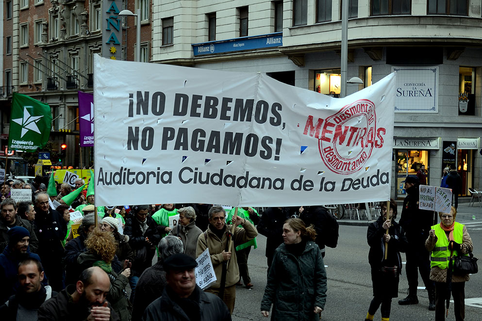 """La deuda de Aragón se ha multiplicado por seis en los últimos ocho años, un incremento """"absolutamente ilegítimo"""""""