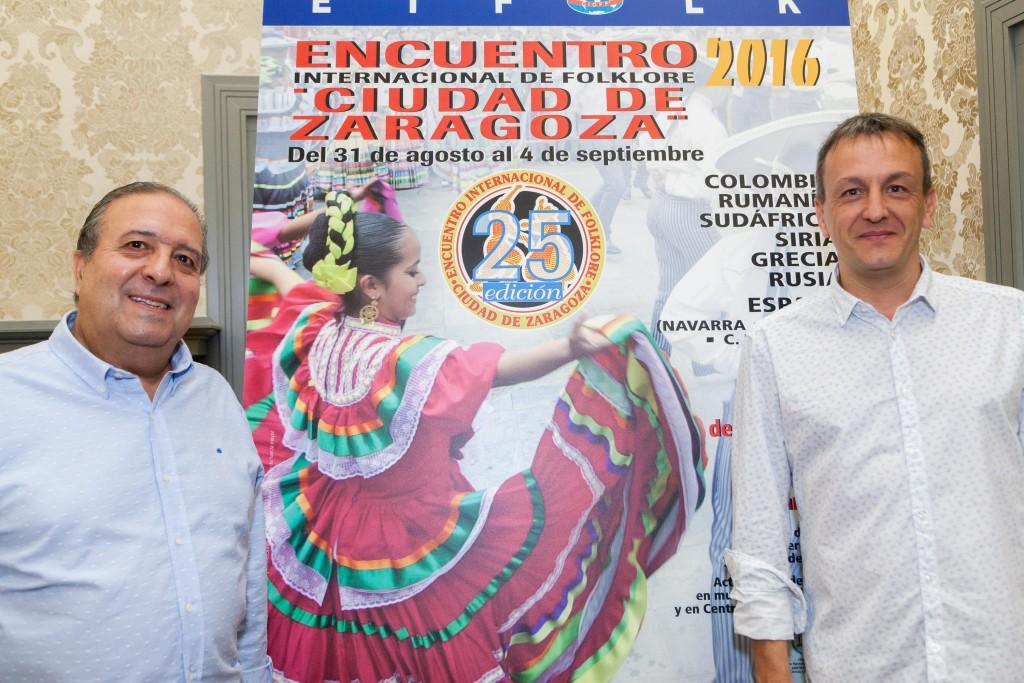 """Colombia, Rumanía, Senegal, Siria, Grecia y Rusia protagonistas del Encuentro Internacional de Folklore """"Ciudad de Zaragoza"""""""