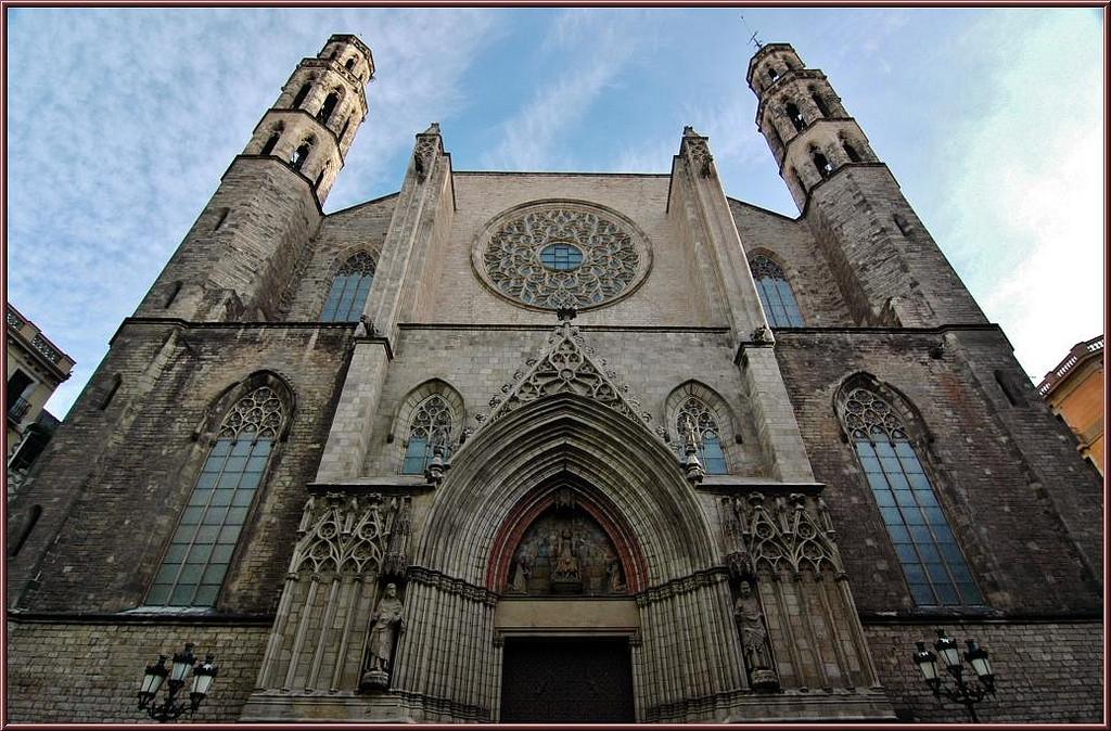 Catedral de Santa María del Mar en Barcelona. Foto: Enrique López-Tamayo Biosca