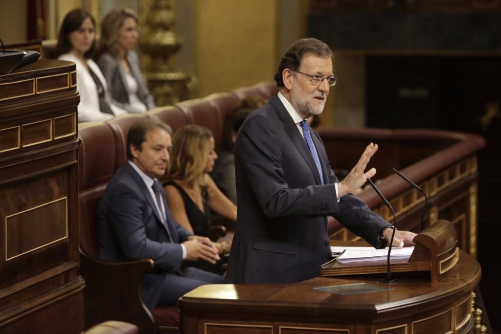 El austericida Rajoy reelegido presidente por el apoyo del bloque españolista