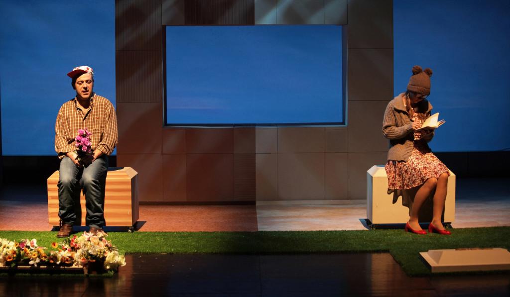 """El humor gestual de Yllana y la comedia """"El tipo de la tumba de al lado"""" cierran el Festival Puerta del Mediterráneo"""