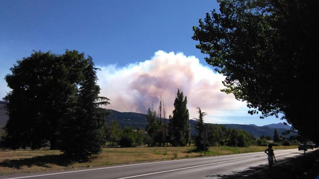 Estabilizado el incendio de los montes de Atarés en el que han ardido alrededor de 140 hectáreas