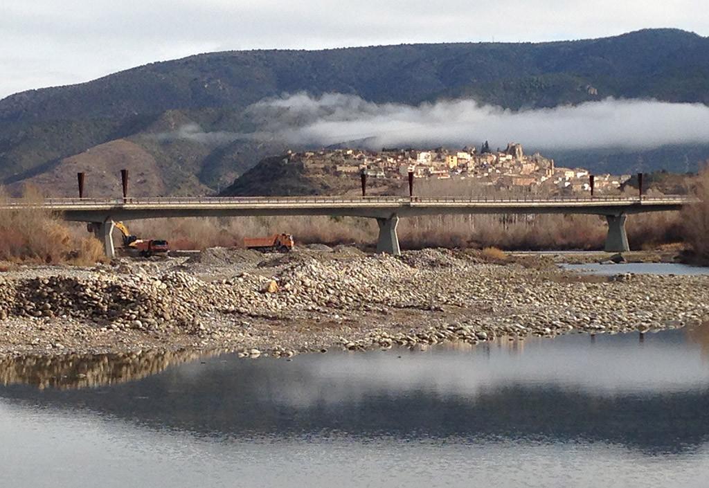 IU Fraga denuncia posibles vertidos contaminantes en el río Cinca