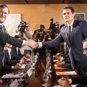España: Ciudadanos y PP ratifican acuerdo de investidura