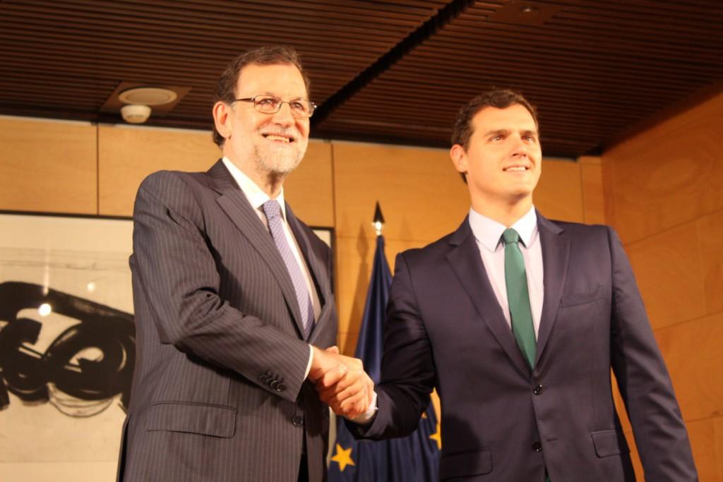 Rivera y Rajoy no anularán el 155 hasta que no haya gobierno en Catalunya