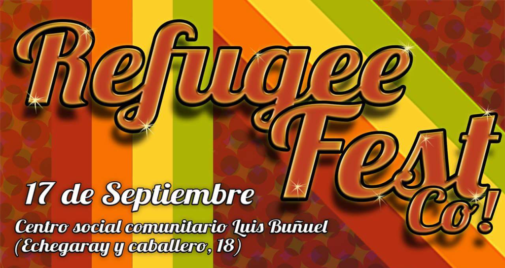 El sábado se celebra en Zaragoza el 'Refugee Fest Co!'