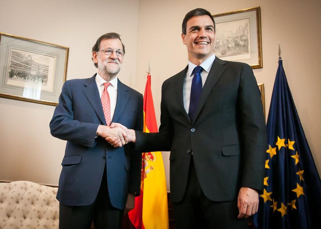 Mariano Rajoy pacta con Pedro Sánchez y Albert Rivera no levantar el 155