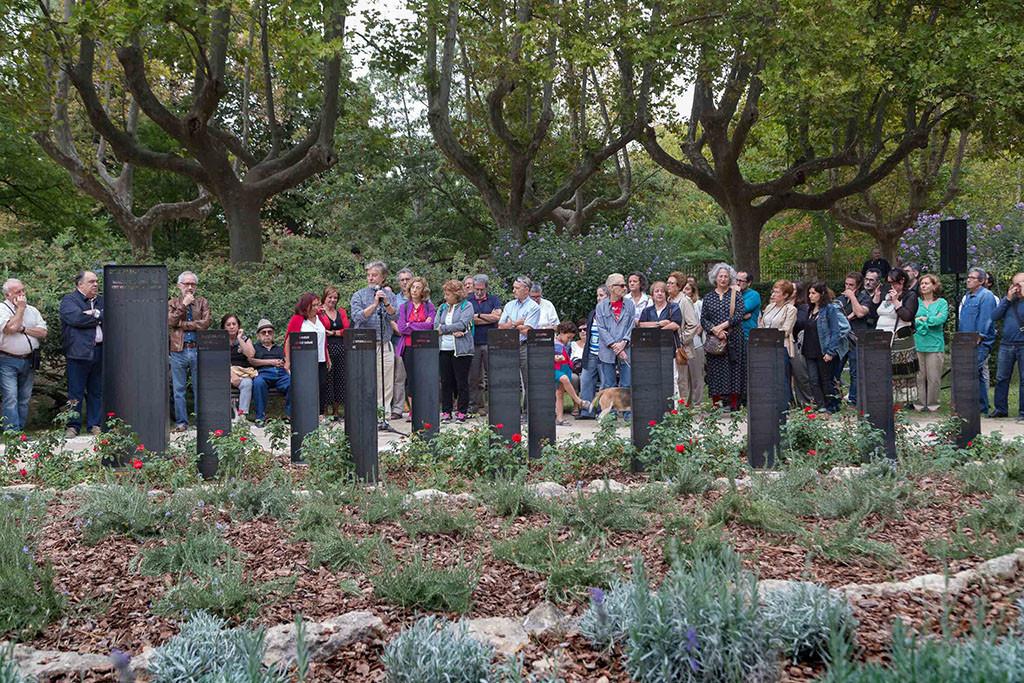 Zaragoza honra la memoria de las Trece Rosas con un lugar para su recuerdo. Foto: Daniel Marcos (AZ)