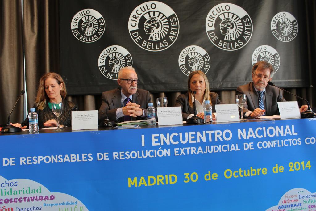 ADICAE organiza en Madrid unas jornadas buscando mejorar el sistema de reclamaciones estatal